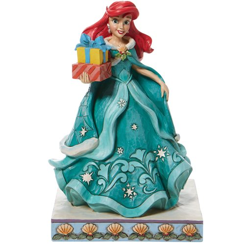 Disney Traditions The Little Mermaid Ariel with Gifts of Song by Jim Shore Statue