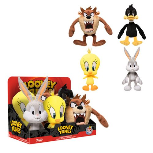 Looney Tunes Plush Display Case