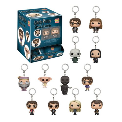 Harry Potter Pocket Pop! Key Chain Display Case