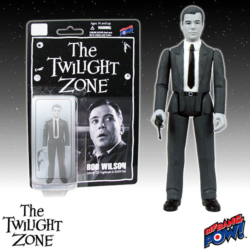 The Twilight Zone Bob Wilson 3 3/4-Inch Action Figure Series 1