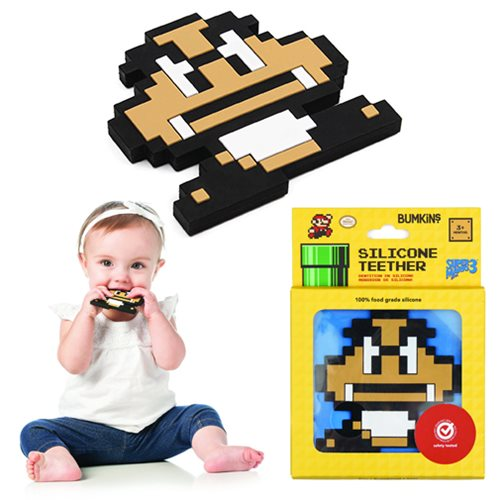 Nintendo 8-Bit Goomba Hand Held Teether