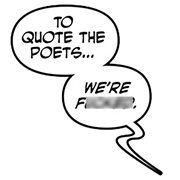 Monstress To Quote the Poets Pin