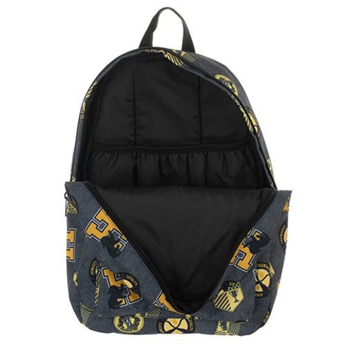 Harry Potter Hufflepuff Print Backpack