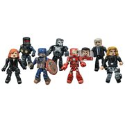 Marvel Minimates Series 67 Captain America: Civil War Case