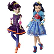 Disney Descendants Neon Lights Feature Dolls Wave 1 Set