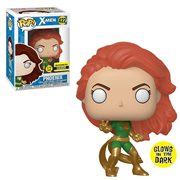 X-Men Phoenix Green Glow-in-the-Dark Pop! Vinyl Figure - Entertainment Earth Exclusive