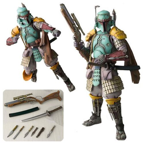 Star Wars Ronin Samurai Boba Fett Meisho Movie Realization Action Figure