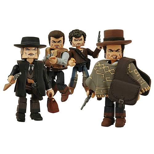 Clint Eastwood For A Few Dollars More Minimates 4-Pack