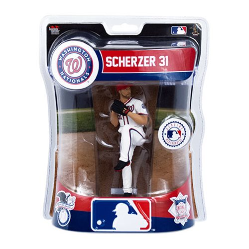 MLB Washington Nationals Max Scherzer 6-Inch Action Figure