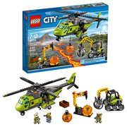 LEGO City In Out 60123 Volcano Supply Helicopter