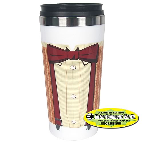 EE Exclusive Doctor Who 11th Doctor Bowtie Travel Mug