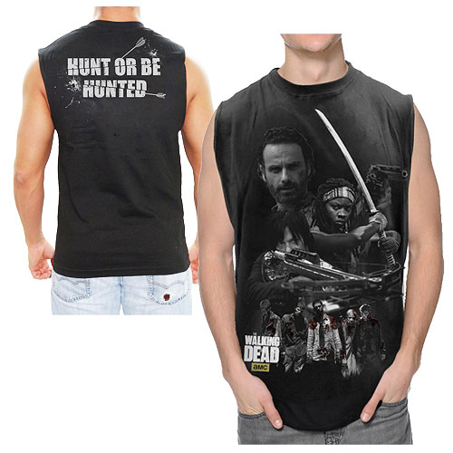The Walking Dead Hunting Group Sleeveless T-Shirt