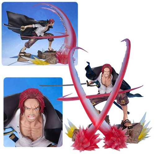 One Piece Shanks Sovereign Haki Figuarts Zero Statue