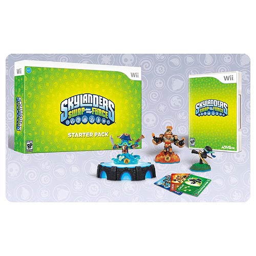 Skylanders Swap Force Nintendo Wii Video Game Starter Pack with Promo Figure