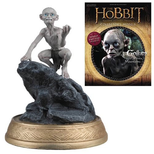 The Hobbit Gollum Misty Mountains Figure with Collector Magazine #21
