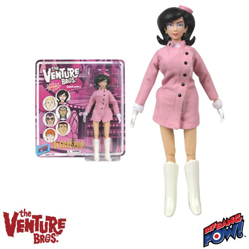 The Venture Bros. Series 4 Dr. Girlfriend 8-Inch Figure