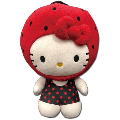 Hello Kitty Strawberry Kitty 12-Inch Plush