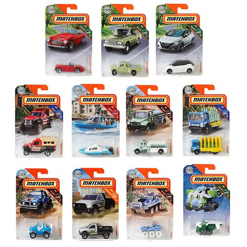 Matchbox Car Collection 2019 Mix 1 Case