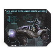Halo Warthog Specs Halo Tin Sign
