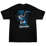 Batman Blue and Gray T-Shirt