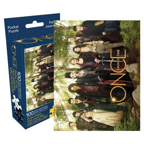 Once Upon a Time Cast 100-Piece Pocket Puzzle
