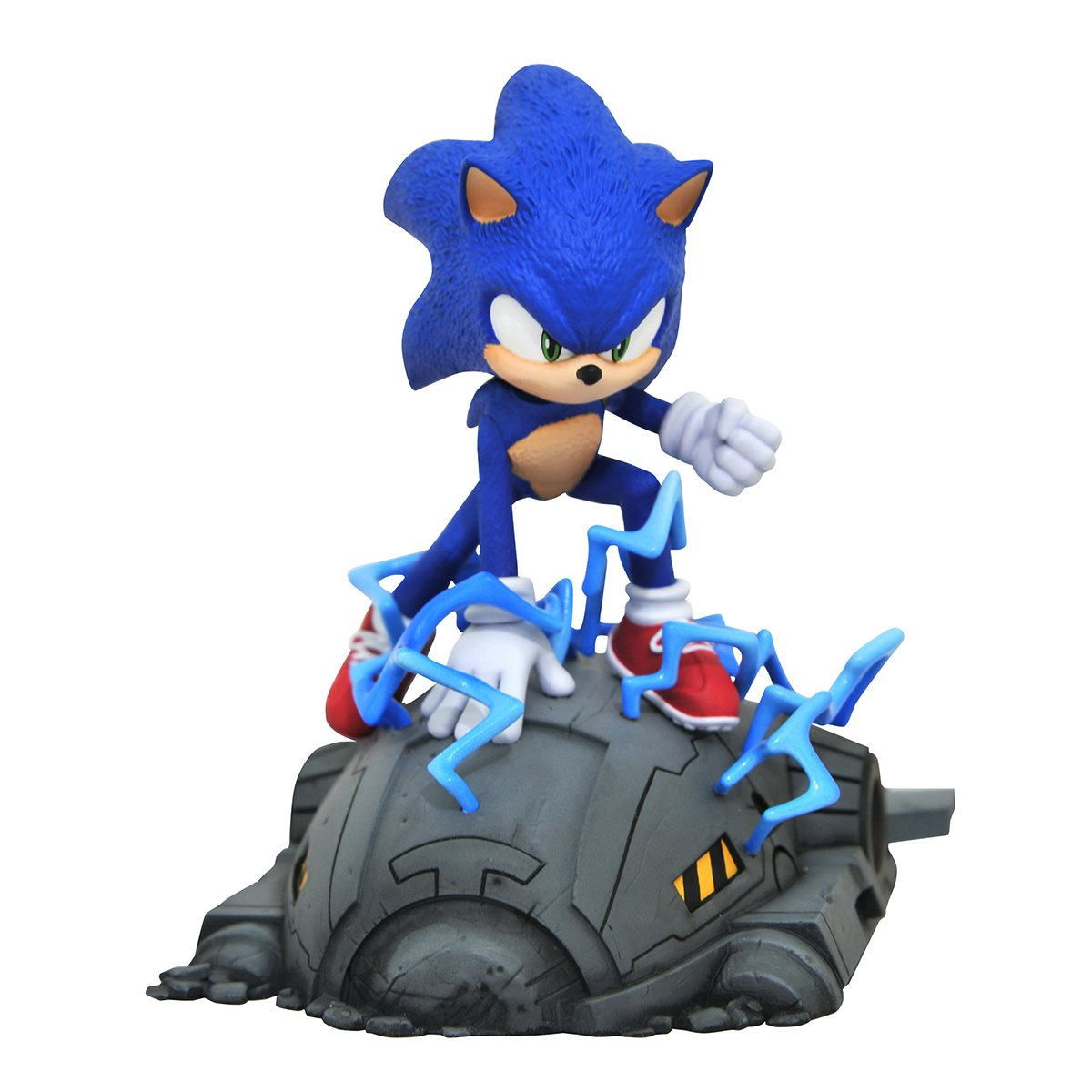 Sonic The Hedgehog Movie Sonic 1 6 Scale Statue Entertainment Earth