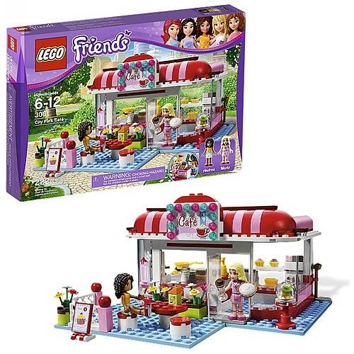 Lego Friends 3061 City Park Café Entertainment Earth