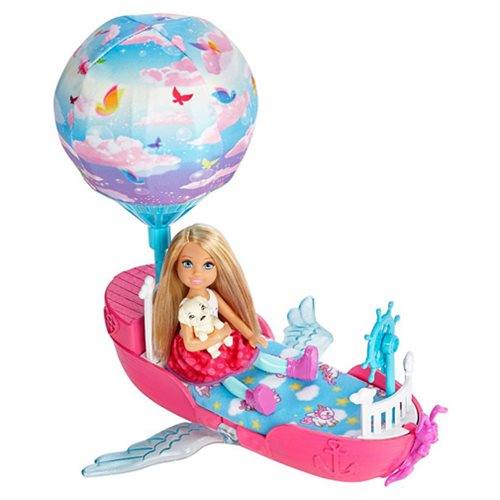 Barbie Dreamtopia Magical Dreamboat Vehicle with Chelsea Doll