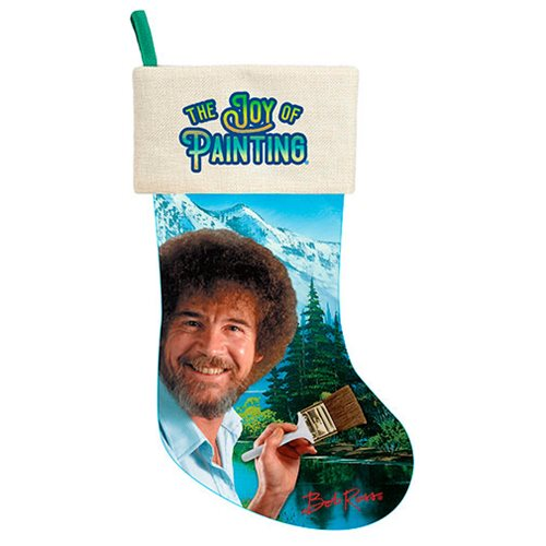 Bob Ross 17-Inch Stocking