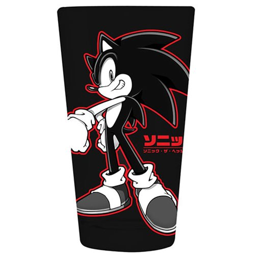 Sonic the Hedgehog Red 16 oz. Pint Glass