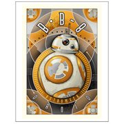 Star Wars Episode VII: The Force Awakens BB-8 Astromech Droid Large Canvas Giclee