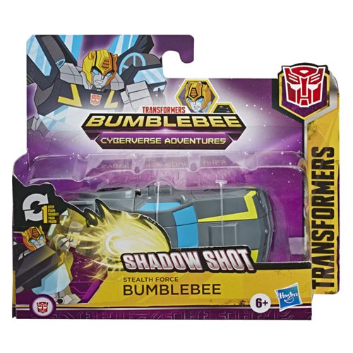 Transformers Cyberverse Action Attackers 1-Step Changer Stealth Force Bumblebee