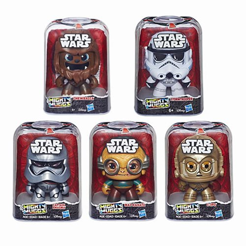 Star Wars Mighty Muggs Action Figures Wave 4 Case