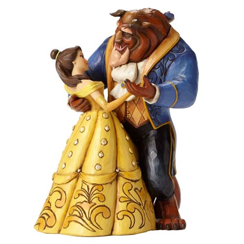 Disney Traditions Beauty and the Beast Moonlight Waltz Statue