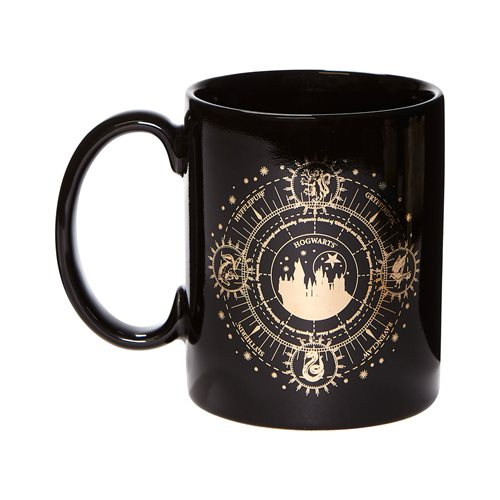 Wizarding World of Harry Potter Hogwarts Gold 14 oz. Mug