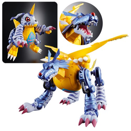 Digimon Adventure 02 Metal Garurumon Digivolving Spirits Action Figure
