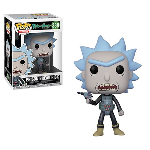 Funko Pop 339 Rick and Morty Prison Escape Rick Vinyl Figure