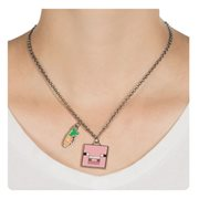 Minecraft Pig Necklace