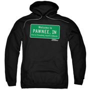 Parks and Recreation Pawnee Sign Hoodie