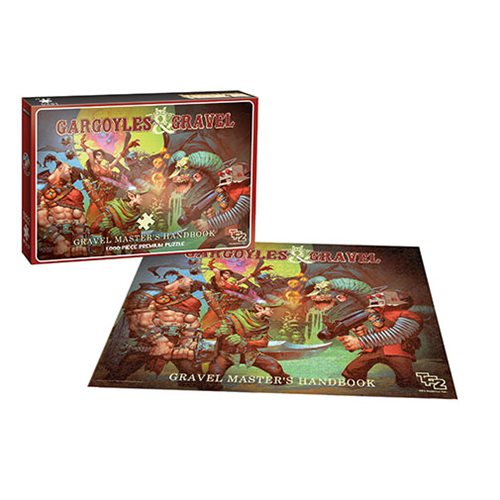 Team Fortress 2 Gargoyles and Gravel 1,000-Piece Puzzle