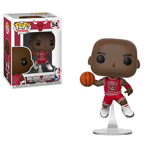 NBA Bulls Michael Jordan Pop! Vinyl Figure #54, Not Mint