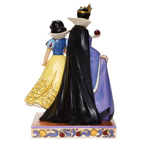 Disney Traditions Snow White and the Seven Dwarfs Snow White and Evil Queen Evil and Innocence by Ji