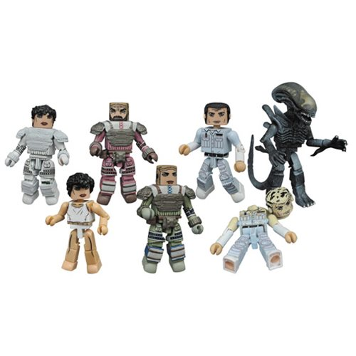 Aliens Minimates Series 3 Case