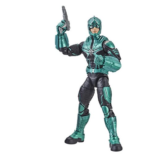 Captain Marvel Marvel Legends Series Starforce Commander 6-Inch Action Figure