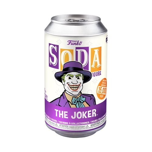 Batman 1989 Joker Vinyl Soda Figure