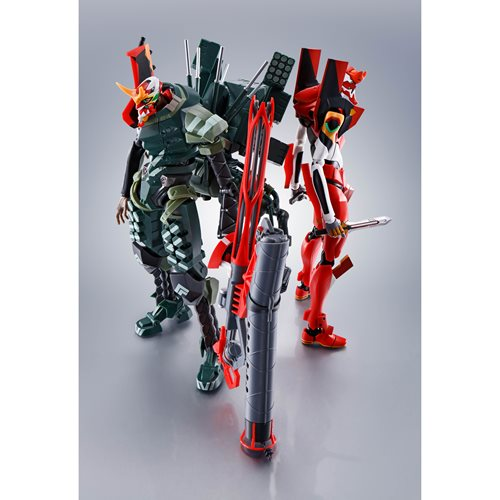 Evangelion:3.0+1.0 Thrice Upon A Time New Eva-02 Alpha Side Eva The Robot Spirits Action Figure