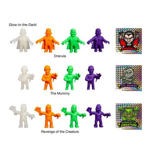 Universal Monsters Keshi Surprise Series 2 6-Pack
