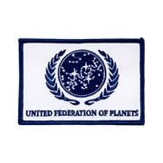 Star Trek United Federation of Planets Patch - White