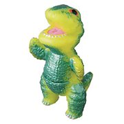 Gogamejira Yellow Mini-Sofubi Vinyl Figure