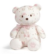 Little Me Vintage Rose Teddy Bear 10-Inch Plush